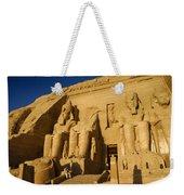 Abu Simbel Weekender Tote Bag