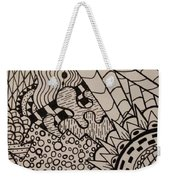 Aceo Zentangle Abstract Design Weekender Tote Bag