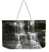 Aden Hill Waterfall Weekender Tote Bag by Kevin Croitz