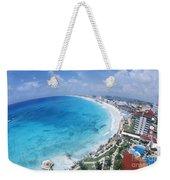 Aerial Of Cancun Weekender Tote Bag