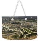 Aerial Photograph Of The Pentagon Weekender Tote Bag