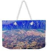Aerial Usa. Los Angeles, California Weekender Tote Bag