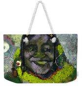 African Bead Painting Weekender Tote Bag