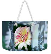 African Daisy Cube Weekender Tote Bag