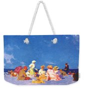 afternoon fun Edward Henry Potthast Weekender Tote Bag
