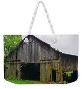 Aged Wood Barn Series Weekender Tote Bag