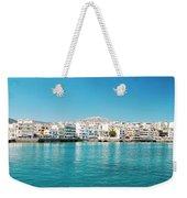 Agios Nikolaos Panorama Weekender Tote Bag