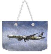 Air New Zealand Hobbit Boeing 777 Art Weekender Tote Bag