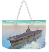 Aircraft Carrier - 3d Render Weekender Tote Bag