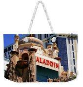 Aladdin Hotel Casino Weekender Tote Bag