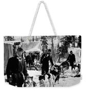 Alaskan Dog Sled, C1900 Weekender Tote Bag