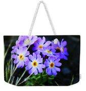 Alaskan Wild Flowers Weekender Tote Bag