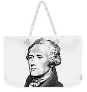 Alexander Hamilton - Founding Father Graphic  Weekender Tote Bag