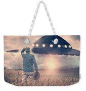 Alien Encounter Weekender Tote Bag