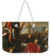 Allocution Of Marquis Del Vasto To His Troops Weekender Tote Bag