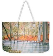 Along The Wissahickon Weekender Tote Bag