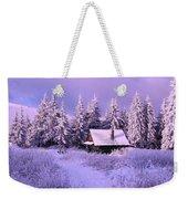 Alpine Hideaway Weekender Tote Bag
