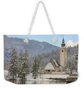 Alpine Winter Clarity Weekender Tote Bag