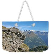 Alps Mountain Landscape  Weekender Tote Bag