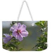 Althea Rose Of Sharon Hibiscus Bloom Weekender Tote Bag