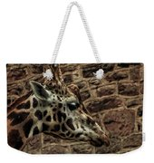 Amazing Optical Illusion - Can You Find The Giraffe Weekender Tote Bag