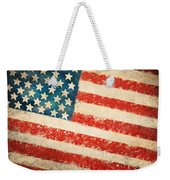 America Flag Weekender Tote Bag by Setsiri Silapasuwanchai
