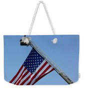 American Firefighter Weekender Tote Bag