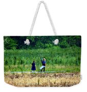 Amish Brother And Sister Weekender Tote Bag