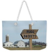 Amish Sign Weekender Tote Bag