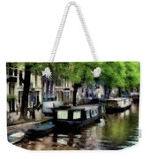 Amsterdam Canals Weekender Tote Bag