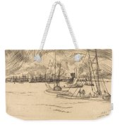 Amsterdam From The Tolhuis Weekender Tote Bag