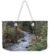 An Autumn Stream Weekender Tote Bag