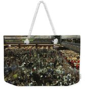 An Elevated View Of Traders Weekender Tote Bag