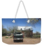 An Historical Concho House Weekender Tote Bag