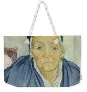An Old Woman Of Arles Arles, February 1888 Vincent Van Gogh 1853 - 1890 Weekender Tote Bag