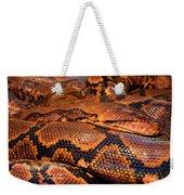 Anaconda Weekender Tote Bag