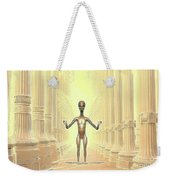 Ancient Alien Angel Weekender Tote Bag