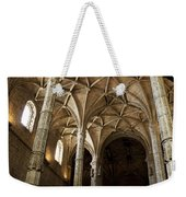 Lisbon Cathedral's Ancient Arches  Weekender Tote Bag