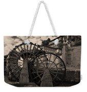 Ancient Chinese Waterwheels Weekender Tote Bag