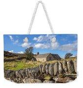 Ancient Welsh Church Weekender Tote Bag