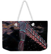 Angel Of The North Weekender Tote Bag