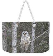 Angel Owl Weekender Tote Bag