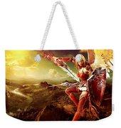 Angel Warrior Weekender Tote Bag
