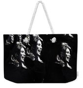 Angie Dickinson Young Billy Young Many Angies Old Tucson Arizona 1968-2013 Weekender Tote Bag