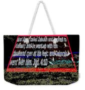 Animals As Art With Text Weekender Tote Bag