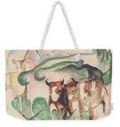 Animals In A Landscape Weekender Tote Bag