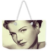 Anne Baxter, Vintage Actress Weekender Tote Bag