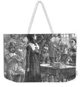 Anne Hutchinson (1591-1643) Weekender Tote Bag by Granger
