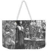 Anne Hutchinson (1591-1643) Weekender Tote Bag