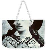 Annie Oakley Weekender Tote Bag